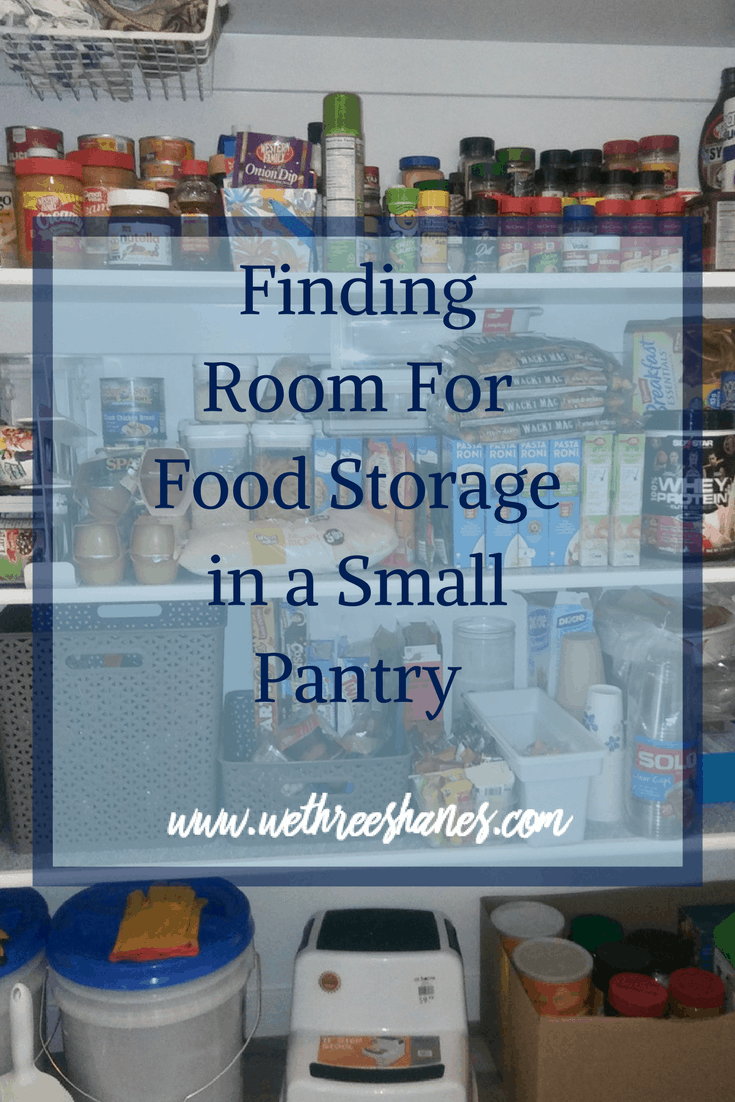 Weu0027ll Show You How To Carve Out An Area And The Best Food For Your Family  To Fill It With. Food Storage In A Small Pantry ...