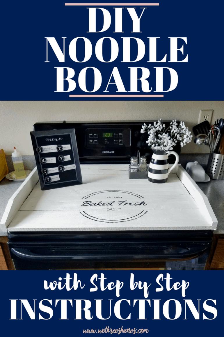 DIY Noodle Board